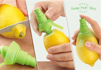 2 ou 4 Caixas de ALWAYS FRESH CITRUS. O espremedor de citrinos em spray que te vai surpreender!