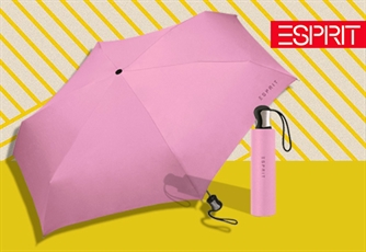 Guarda Chuva ESPRIT Blossom Rose (Tipo: Easymatic 3-Section). Um guarda-chuva que te vai surpreender!