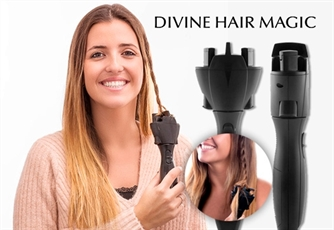 Trançador Eléctrico MAGIC BRAID da Prestigiosa Gama Divine Hair Magic. Para umas tranças perfeitas!