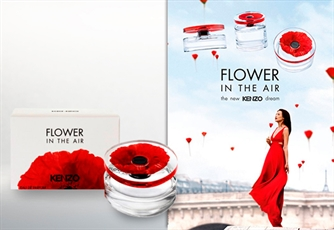 Perfume Feminino: KENZO, Flower In The Air 100 ml. Uma nova interpretação do clássico Flower by Kenzo.