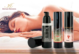 Gel Massageador, Gel de Sexo Oral e Gel Man Climax EXTASE SENSUEL | Ideal para prolongar o prazer em pares!
