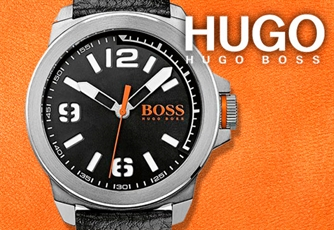 HUGO BOSS Relógio Men's Orange| 3ATM I Data.