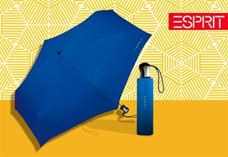 Guarda Chuva ESPRIT Aquamarine (Tipo: Easymatic 3-Section). Um guarda-chuva Resistente e Funcional!